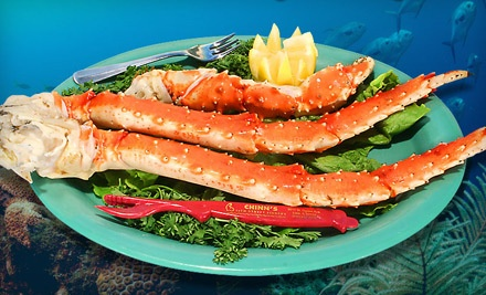 $50 Groupon for Seafood Fare and Drinks at Dinner (SundayFriday) - Chinn's 34th Street Fishery in Lisle