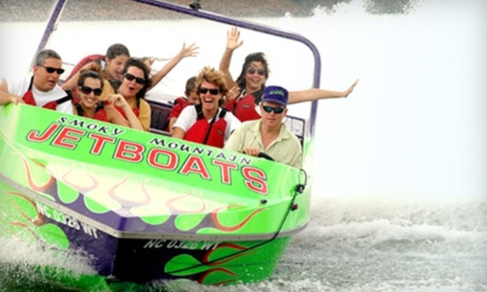 Smoky Mountain Jet Boat Rides - Nantahala: $15 for a Jet Boat Ride from Smoky Mountain Jet Boat Rides (Up to $31 value) in Bryson City