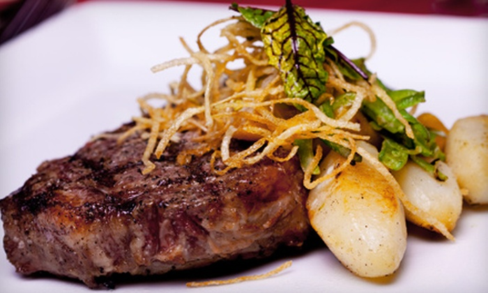 L1 Lounge - Summerlea: $10 for $20 Worth of Upscale Pub Fare and Drinks at Fantasyland Hotel's L1 Lounge