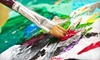 Look Studios West - Mid City South: BYOB Painting Class, Bottoms Up Social, or Monthly Access Pass at Look Studios & Gallery