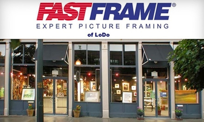 FastFrame of LoDo - LoDo: $45 for $100 Worth of Custom Framing at FastFrame of LoDo