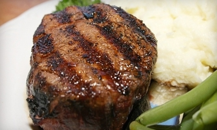 The Grill Room - Hauppauge: New American Fusion Fare and Drinks for Two or Four at The Grill Room (Half Off)