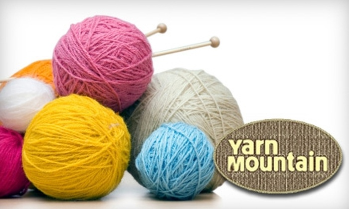 Yarn Mountain - Richmond: $15 for a Beginners' Knitting or Crochet Course at Yarn Mountain in Harrisonburg