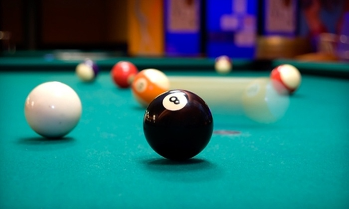 CueTopia Billiard Cafe - Erikson: $15 for Four Hours of Pool at CueTopia Billiard Cafe ($30 Value)