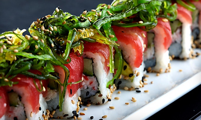 Flying Sumo Sushi Bar & Grill - Salt Lake City: $25 for $50 Worth of Sushi and Japanese Fare at Flying Sumo Sushi Bar & Grill in Park City