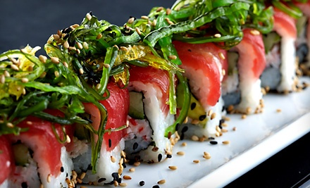 $50 Groupon to Flying Sumo Sushi Bar & Grill - Flying Sumo Sushi Bar & Grill in Park City