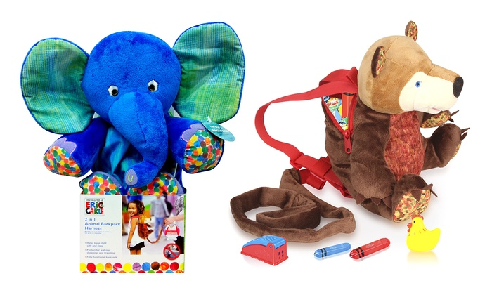 Eric Carle Kids' Backpack Harness | Groupon