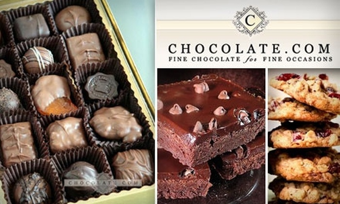 null: $10 for $20 Worth of Decadent Sweets at Chocolate.com