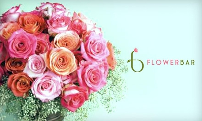 Flower Bar - Villages of Brimhall/Brimhall Classics: $10 for $25 Worth of Flowers and More at Flower Bar