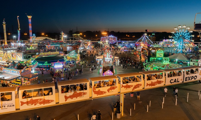 General Admission Fair Tickets - California State Fair 2019