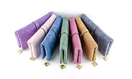 1x oder 2x Geldbeutel aus Leder für Damen in der Farbe nach Wahl