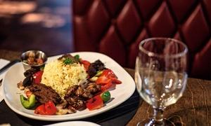 Bosphorus Mediterrenean Bistro: Mediterranean Cuisine at Bosphorus Mediterranean Bistro (Up to 50% Off). Two Options Available.