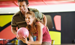 Lakewood Bowl: Bowling for 2 or 4 with Optional Margaritas and Tacos at Lakewood Bowl (Up to 50% Off). Choose from 4 Options.