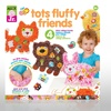 Tots Fluffy Friends Collage Craft Kit