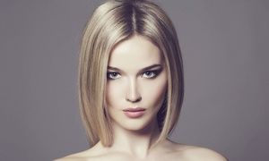 Alban Hair Design: Keratin Straightening Treatment with Optional Haircut at Alban Hair Design (Up to 52% Off)