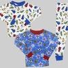 Boys' 2-Piece Cotton Pajama Sets