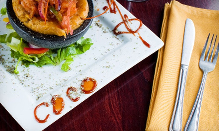 Coco Restaurant - Humboldt Park: Three-Course Puerto Rican Dinner for Two or Four at Coco Restaurant (Up to 62% Off)