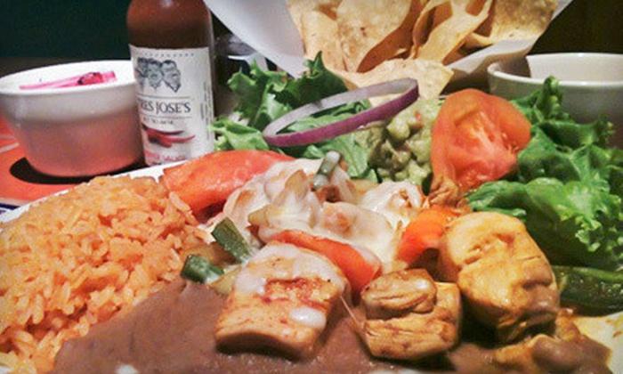 Tres Jose's - Crestwood: $10 for $20 Worth of Tex-Mex Cuisine at Tres Joses