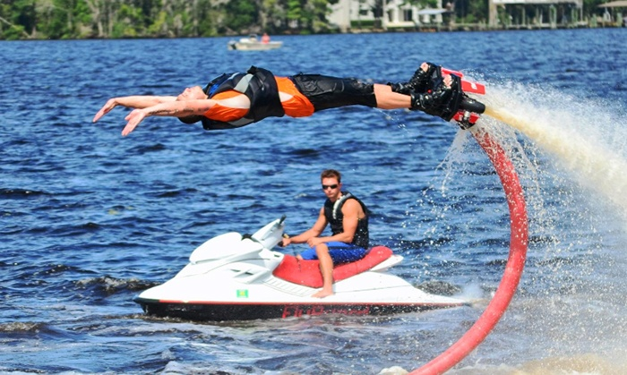 Hydrobatix - Jacksonville Beach: $99 for an Introductory Flyboard Lesson and  Flight from Flyboard First Coast          ($289 Value)