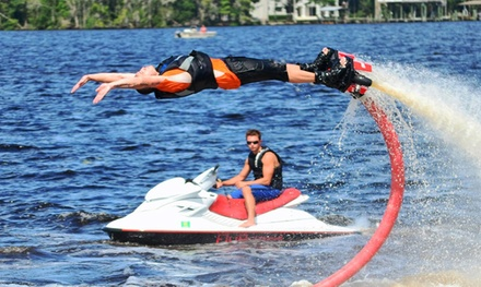 $99 for an Introductory Flyboard Lesson and  Flight from Flyboard First Coast          ($289 Value)