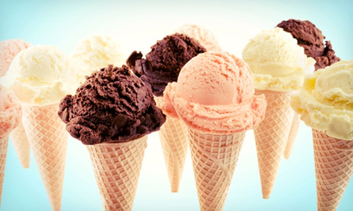 Big Scoops Creamery - Ogden: $10 for Four Groupons, Each Good for $5 Worth of Ice Cream at Big Scoops Creamery ($20 Total Value)