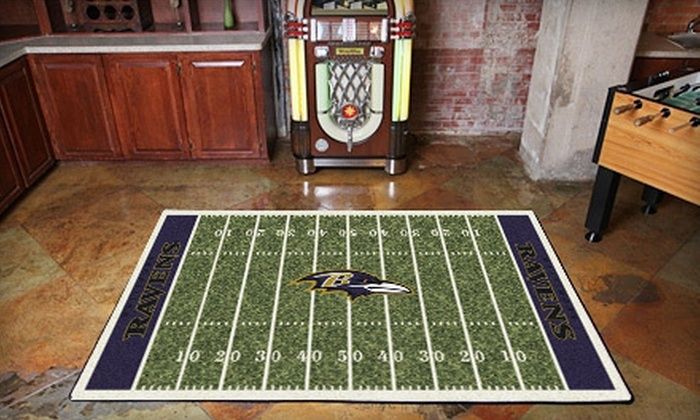 Mysportsrug Dnr In Baltimore Groupon Nfl Fade Sports Team Rugs