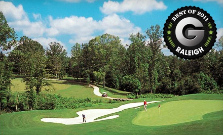 18-Hole Round of Golf with Cart Rental (up to a $65 value) - Eagle Ridge Golf Club in Raleigh