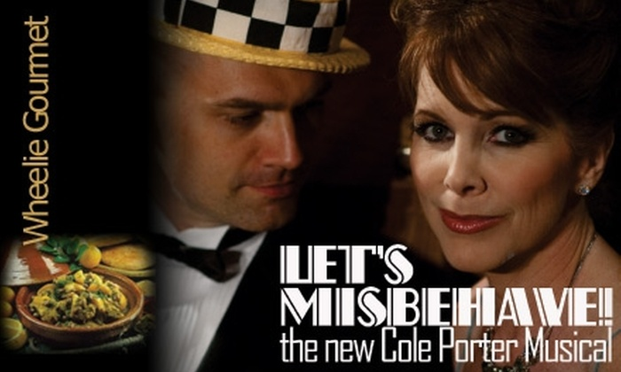 "Cameo Theatre - Downtown: $25 for One Ticket to ""Let's Misbehave"" Plus a Catered Dinner at Cameo Theatre (Up to a $51 Value). Choose From 5 Dates."