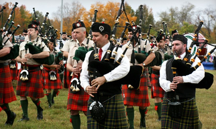 Meadow Highland Games & Celtic Festival - Doswell: $13 for Weekend Pass to Meadow Highland Games & Celtic Festival in Doswell ($27 Value)