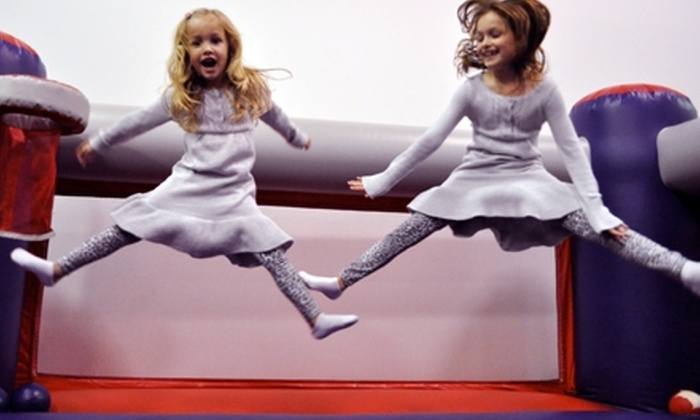 BounceU - Miamisburg: Bounce Passes or Parents' Night Out Admission to BounceU. Three Options Available.