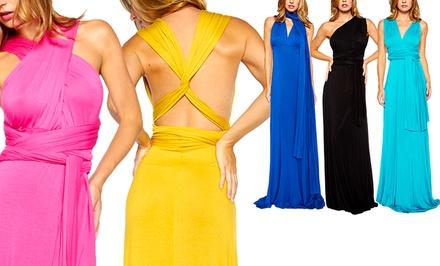 Women's 'Wear Me Seven Different Ways' Maxi Dress