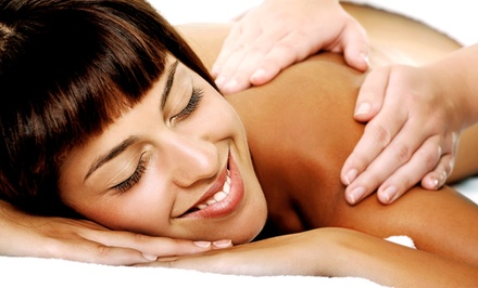 $41 for $75 Toward 60 minute massage with scalp treatment at Natural Elements Skin & Body Oasis