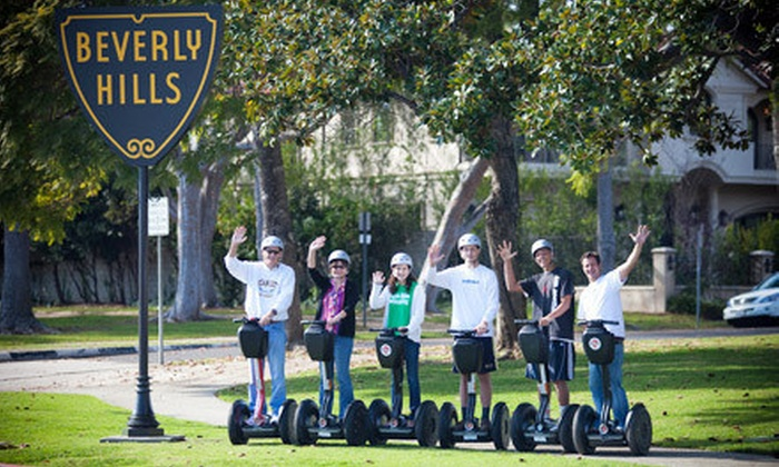 Another Side Of Los Angeles Tours - Los Angeles: $49 for a Beverly Hills or La Brea Tar Pits Segway Tour from Another Side Of Los Angeles Tours ($149 Value)