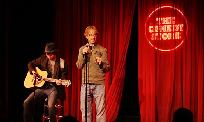 The Comedy Store - Village: $9 for a Weekend Comedy Show or a Weekday Show for Four at The Comedy Store in La Jolla (Up to $60 Value)