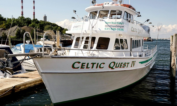 celtic quest fishing in port jefferson ny groupon