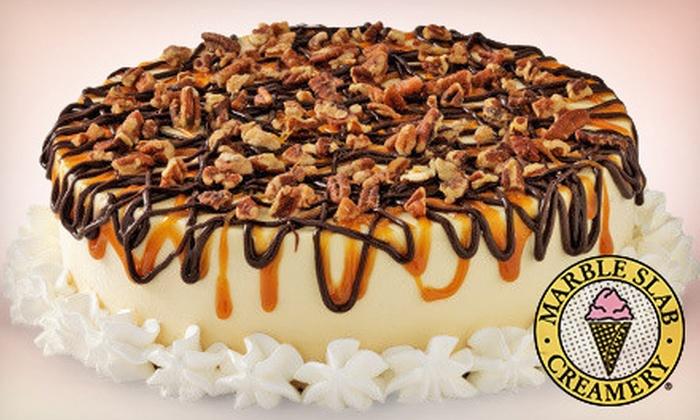 Marble Slab Creamery - Ottawa, ON: $18 for a Large Ice-Cream Cake at Marble Slab Creamery (Up to $35.95 Value)