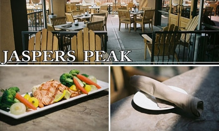 Jaspers Peak Bistro Bar & Grille - Greyhawk: $20 for $40 Worth of Cajun Cuisine at Jaspers Peak Bistro Bar & Grille