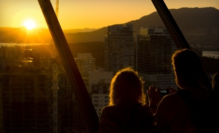 All-Day Single-Visit Vancouver Lookout Package for 2 Adults (a $37 Total Value) - Vancouver Lookout in Vancouver