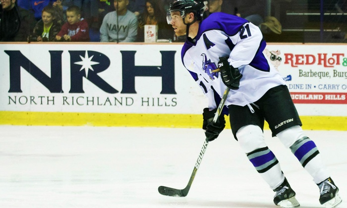 Lone Star Brahmas - Nytex Sports Centre: Lone Star Brahmas Hockey Game at NYTEX Sports Centre (Up to 50% Off). Two Seating Options.
