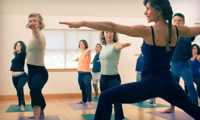 Yoga Elements - Okotoks: 5 or 10 Yoga Classes at Yoga Elements in Okotoks (Up to 67% Off)