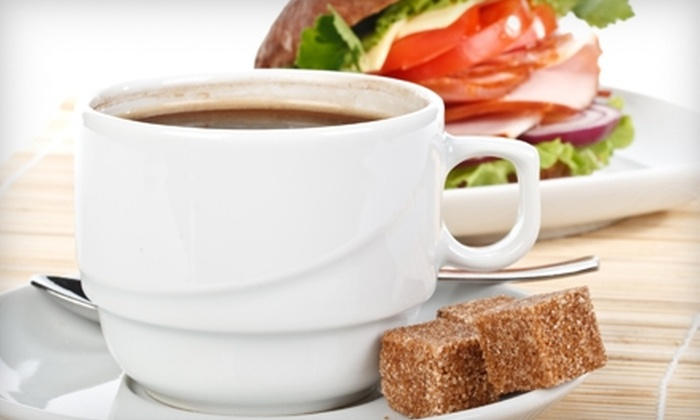 Citadel Cafe Lounge - Multiple Locations: $5 for $10 Worth of Café Fare and Drinks at Citadel Cafe Lounge