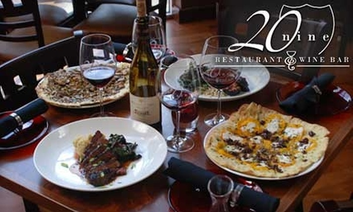 20nine Restaurant & Wine Bar - Uptown Broadway: $20 for $40 Worth of Wine-Country Cuisine and Drinks at 20nine Restaurant & Wine Bar