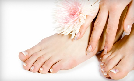 1-Hour Mani-Pedi Package (a $40 value) - Wild Strandz Hair Salon in Ormond Beach