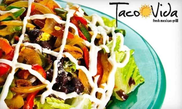 Taco Vida - Palm Beach: $7 for $14 Worth of Tacos, Burritos, and Brews at Taco Vida in West Palm Beach
