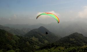 VOLAR EN ASTURIAS: Vuelo en parapente biplaza por la costa por 34,90 € o por la Senda del Oso por 54,90 €