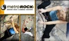 MetroRock Indoor Climbing - Multiple Locations: $49 for a One-Month Rock-Climbing Membership, Full Equipment Rental, and One Beginner-Level Class at MetroRock ($179 Average Value)