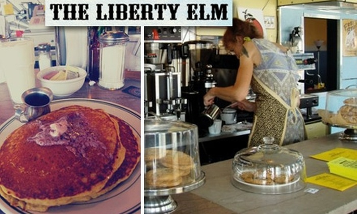The Liberty Elm Diner - Providence: $5 for $10 Worth of Fresh American Fare and Drinks at The Liberty Elm Diner