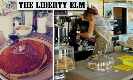 $10 Groupon to The Liberty Elm Diner - The Liberty Elm Diner in Providence
