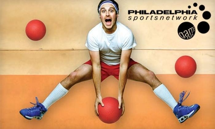 Philadelphia Sports Network - Washington Square West: $29 Coed Dodgeball Fall League Registration with Philadelphia Sports Network ($58 Value)