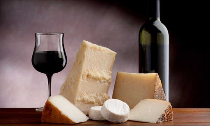 World Cafe - Downtown: $29 for Wine Flights and a Cheese Plate for Two at World Cafe in Boulder (Up to $64 Value)